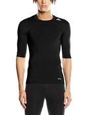 adidas Herren Training Techfit Base T-Shirt, Black, 2XL