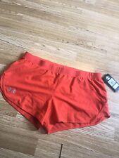 Under Armour Heatgear Orange Shorts Size XL