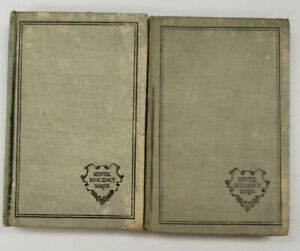 Mental Efficiency Series-Opportunities/Personality,1915, 2 books, Antique (B150)