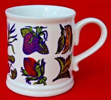 CRABTREE & EVELYN 'FRUITS'  TANKARD DRINKING MUG - FABULOUS CONDITION!