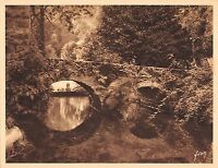 Br45033 Chateau de la caza le pont rustique Hormantoxone Publicite advert france