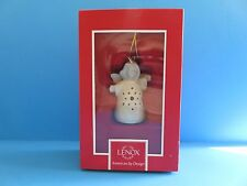 "Lenox ""Angel Wishes Snowflake Bell� Christmas Ornament"