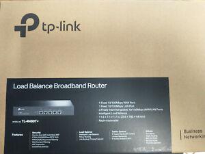 FactoryRefurbished TP-Link TL-R480T+ 4-Port 10/100 Load Balance Broadband Router