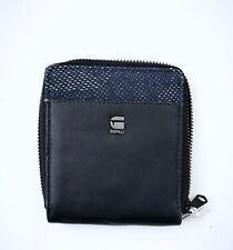 G-Star Derlil Medium Leather Wallet, Black