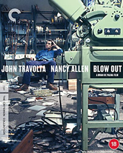 Blow Out The Criterion Collection BLU-RAY NUOVO