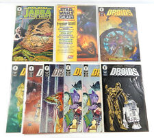 Star Wars Droids #1 2 3 4 5 plus Vol. 2 #1 Star Wars Galaxy #1 Jabba Hutt Comics