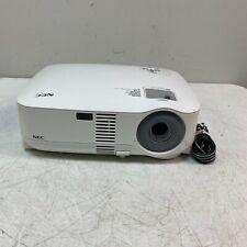 New ListingNec Vt595 Dvi-I Vga Portable Xga Lcd Projector Speaker 1300 Lamp Hours Tested