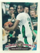 Hassan Whiteside 2010 Upper Deck world of sports rookie