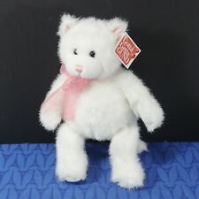 NWT! GUND 13 inch Muffin the Kitten Cat White, pink bow,  New  w/ Tag 14039 (J5)
