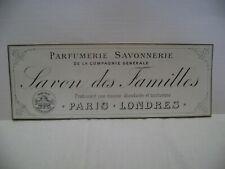 etiquette savon des familles parfumerie savonnerie de la compagnie generale