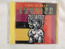 "Yma Sumac ""Sampler Exotica"" BRAND NEW! STILL SEALED!"