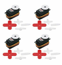 New Hitec HS645 HS645MG HS-645MG High Torque Metal Gear MG RC Servo Four Pack