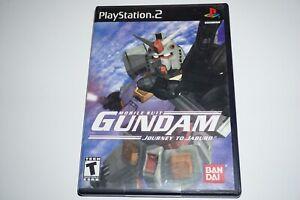 Mobile Suit Gundam: Journey To Jaburo (Sony Playstation 2 ps2) w/ Case