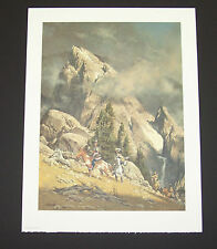 "Frank McCarthy Limited Edition Print ""Crossing the Divide"" w/Original Folder"