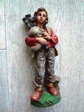 Mann mit Dudelsack (*** TOP-Zustand ***) große Marolinfigur ca. 17,5 cm