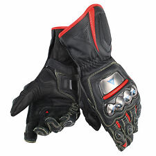Dainese Full Metal 6 Gloves - Black Fluo Red - MANY SIZES!
