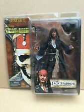 PIRATES OF THE CARIBBEAN CURSE OF THE BLACK PEARL CAPT JACK SPARROW SERIES 1 NEW