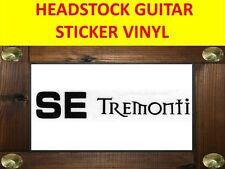 PRS TREMONTI SE BLACK STICKER HEADSTOCK VISIT OUR STORE WITH MANY MORE MODELS