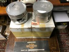 HARLEY DAVIDSON  PISTONS & RINGS PAIR EVO XL 883 +10 OVER GENUINE PART# 22253-86