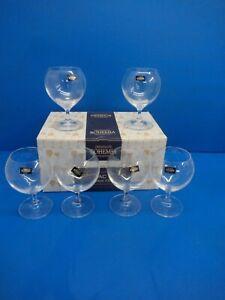 Bohemia Brandy Cognac Snifter Glass /Set of 6 /350 ML/12 oz/ Cecilia Collection