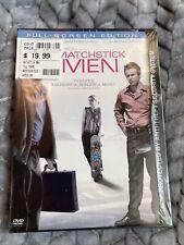 Matchstick Men (Dvd, 2004, Full-Screen Edition) Nicolas Cage Sam Rockwell New