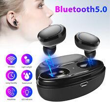 Mini Bluetooth 5.0 Headsets TWS Wireless Earphones Mic Stereo Headphones Earbuds