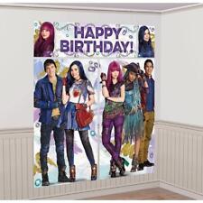Disney Descendants 2 Kids Birthday Party Scene Setters Wall Decorating Kit