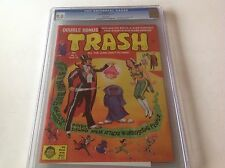 TRASH 1 CGC 9.0 WHITE PAGES STAR WARS POSTER PARODY MAD MAG 2nd HIGHEST GRADED
