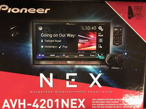 "Pioneer AVH-4201NEX Multimedia DVD Receiver w/ 7"" WVGA Touchscreen Display BUCam"