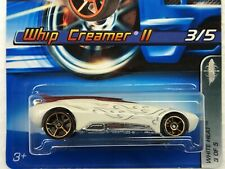 HOT WHEELS 2005 WHITE HEAT WHIP CREAMER II #3/5 WITH FASTER THAN EVER WHEELS