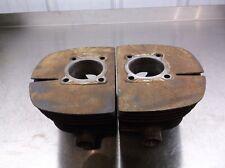 1965 Yamaha 250 Cylinders Jugs No Broken Fins Needs Bore 56mm 65 Big Bear T2-3