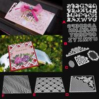 Metal Letter Frame Cutting Dies Stencils Greeting Card Album Embossing Craft DIY