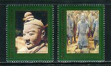 UN-Vienna #230-231, 1997 Terracotta Warriors of Xian - World Heritage Set NH