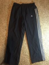 Adidas Men's Gray Grey Mesh Lined Track Pants Jogging climaproof XL Kd1
