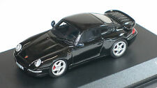 Minichamps 1/87 HO 1995 Porsche 911 (993) Turbo  (BLACK) 877069200 US SELLER