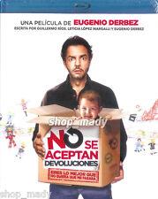 NO SE ACEPTAN DEVOLUCIONES Blu-Ray Disc - Eugenio Derbez en Español Latino