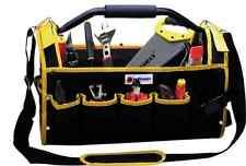 """16"""" Multi-Purpose Tool Storage Bag Case 19 Pockets Shoulder Carry Tubular Holder"""