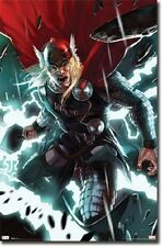MARVEL COMIC SUPER HERO THOR IN ACTION 22x34 NEW ANIMATED POSTER FREE SHIPPING