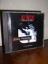 Jazz Masters: 100 ans de Jazz - Billie Holiday (CD,1996,e.f.s.a.Collection)