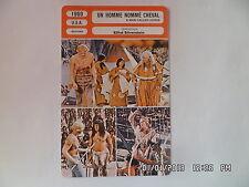 CARTE FICHE CINEMA 1969 UN HOMME NOMME CHEVAL Richard Harris Corinna Tsopei