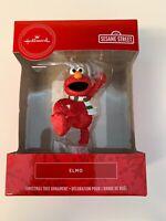 Hallmark 2019 Sesame Street ELMO Christmas Ornament Red Box New in Box