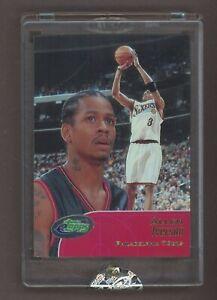 2002 eTopps Allen Iverson Philadelphia 76ers