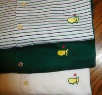 ~Lot of (3) The Masters Collection & Bobby Jones Men's XL Polo Golf Shirts!!!🏌️