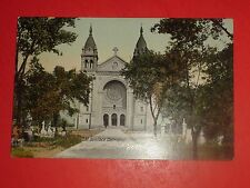 ZF708 Vintage Postcard St.Boniface Cathedral Manitoba Canada