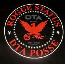 Rogue Status DTA POSSE MEMBER T Shirt Size S Black NWOT