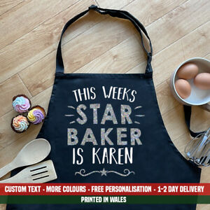 This Weeks Star Baker Is NAME Apron Bake Off Baking Birthday Christmas Gift