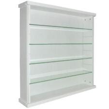 Bibliothèques, étagères et rangements blancs en verre pour la maison