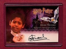 Harry Potter-SS-Authentic-Signature-Autograph Card-Alfred Enoch-Dean Thomas