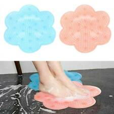 Lazy Bath Massage Pad Silicone Non-slip Suction Cup Bathroom Shower Mat Supply