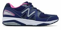 New Balance Women's 1540v2 Shoes Blue with Pink